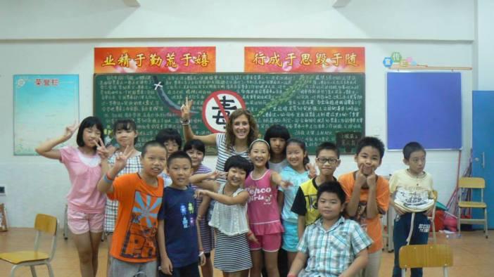 Zhongshan Camp, my class