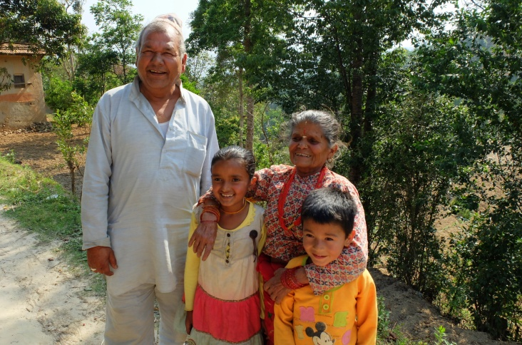 a common family in the village