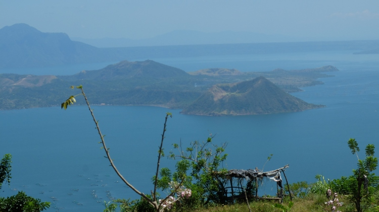 Finally the Taal Volcano