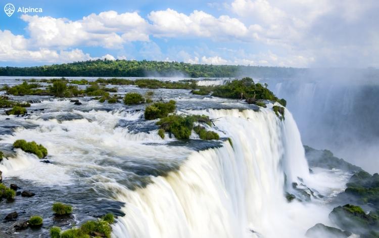 wodospady Iguazu - Brazylia